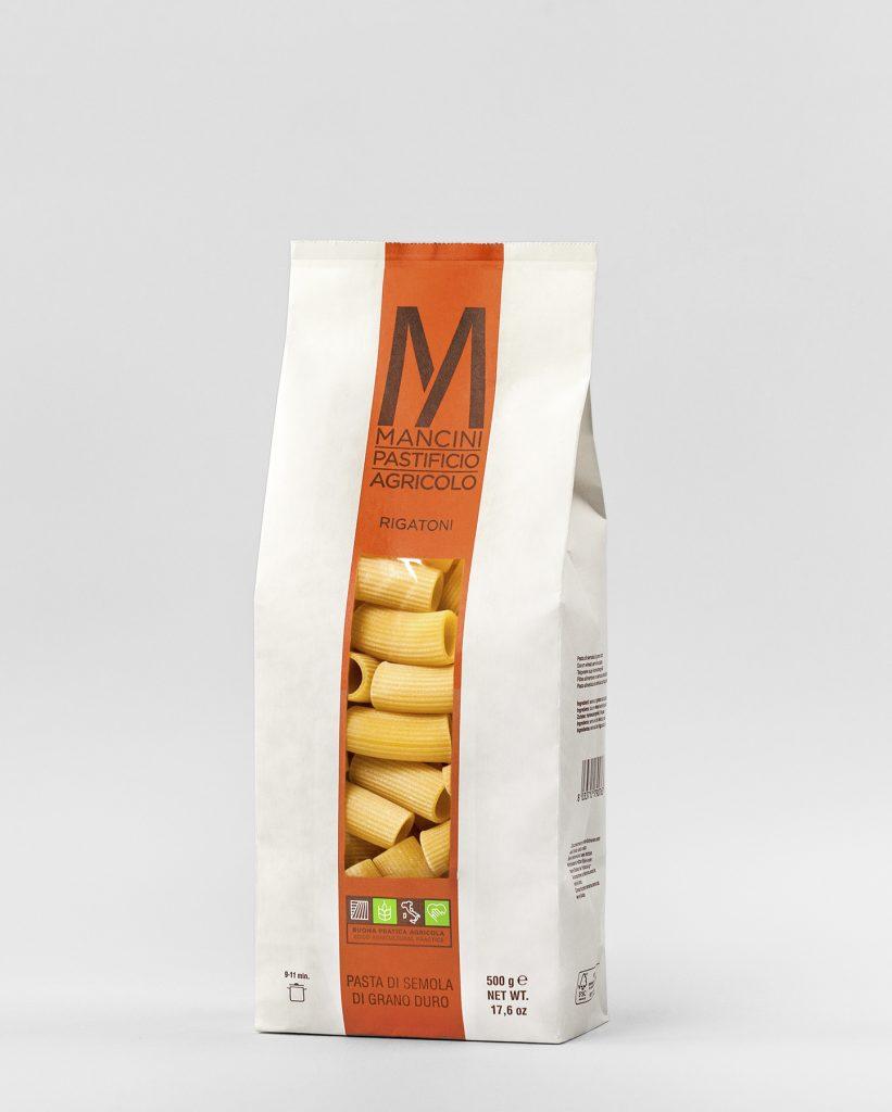 Pasta Rigatoni Mancini 500g