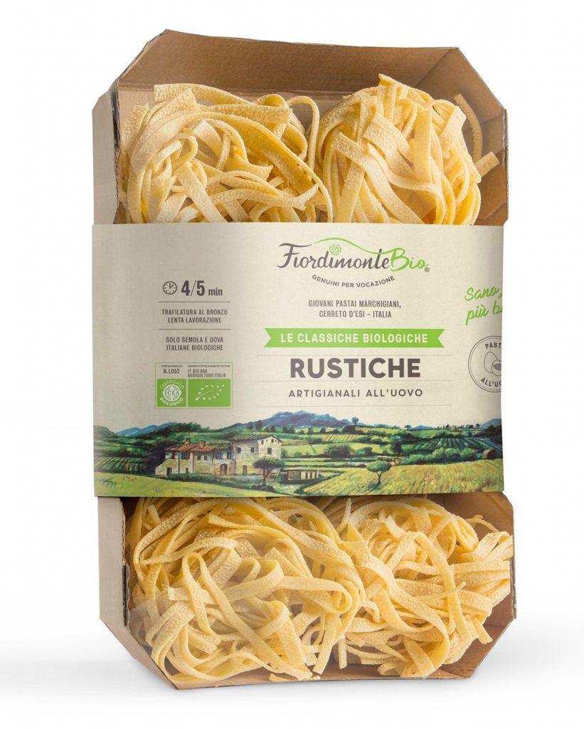 Pasta Rustiche Fiordimonte Luomu 380g