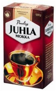 Paulig Juhla Mokka Pannujauhatus Kahvi 500g