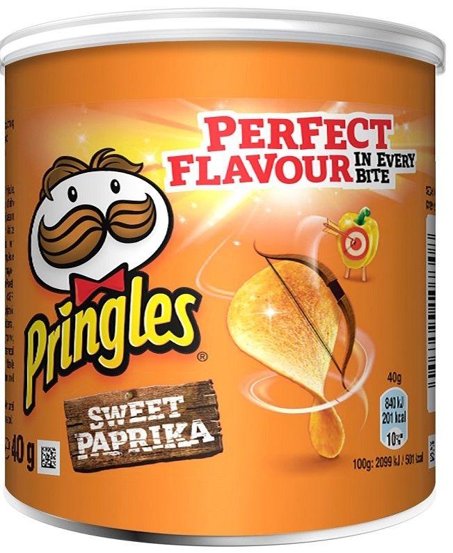 Pringles Paprika Perunalastu 40g
