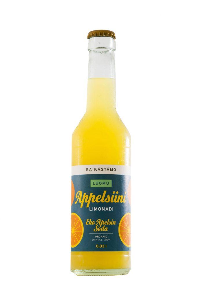 Raikastamo Appelsiini Limonadi Luomu 0,33l