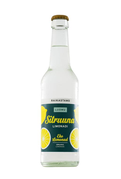 Raikastamo Sitruuna Limonadi Luomu 0,33l