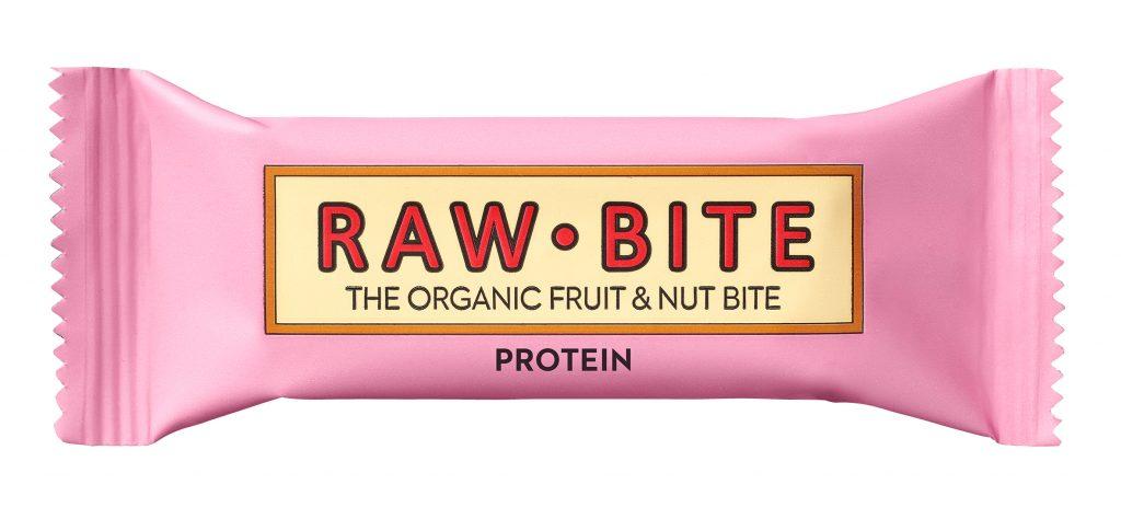 Rawbite Proteiini Patukka Luomu 50g (G,L,M,V)