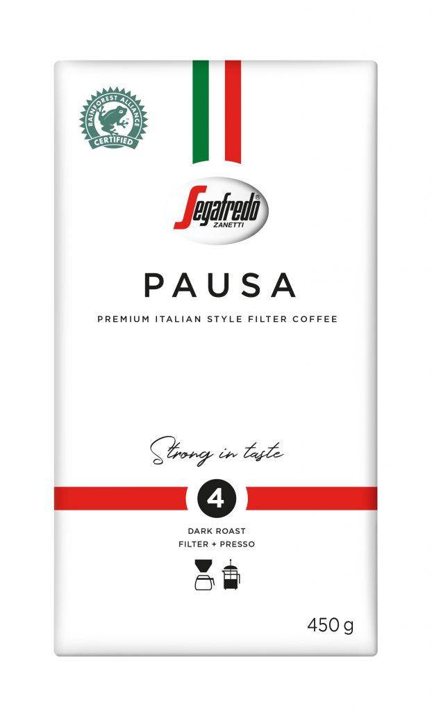 Segafredo Pausa Tumma Suodatinjauhatus Kahvi 450g