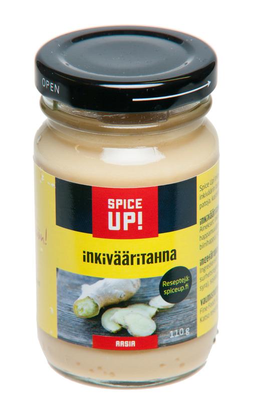 Spice Up Inkivääritahna 110g (G,L,M)