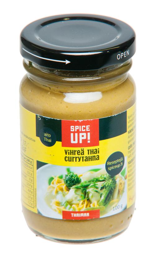 Spice Up Vihreä Thai Currytahna 100g (G,L,M)