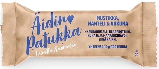Sportlife Foods Äidin Patukka Mustikka-Manteli-Viikuna Välipalapatukka 40g (G,VL)