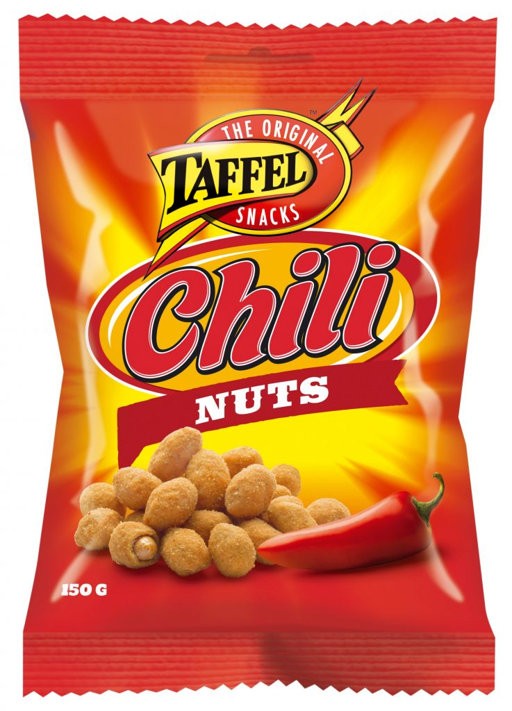 Taffel Chili Nuts 150g