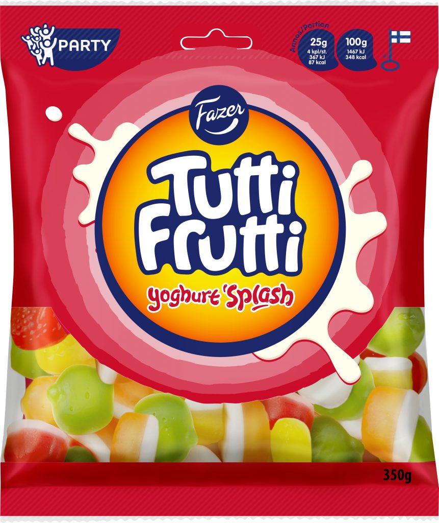 Tutti Frutti Yoghurt Splash Makeispussi 350g