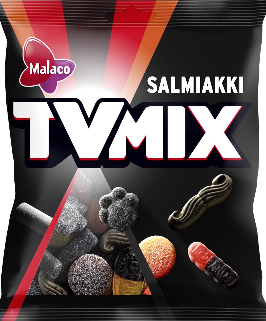 Tv Mix Salmiakki Makeissekoitus 280g (L,M)
