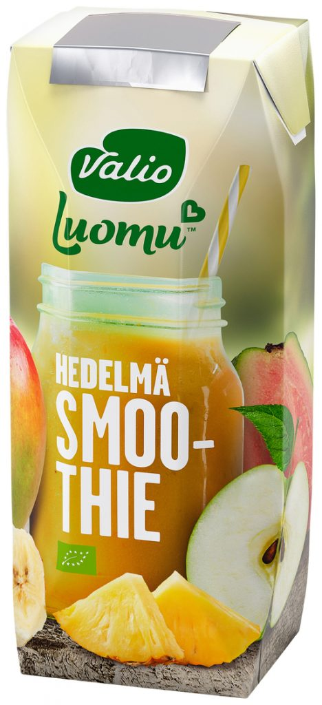 Valio  Smoothie Hedelmä Luomu 2,5dl (G,L,M,V)