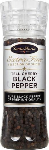 Santa Maria Black Pepper Mustapippuri Mylly 210 g