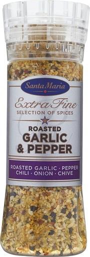 Santa Maria Roasted Garlig&Pepper Mylly 265 g